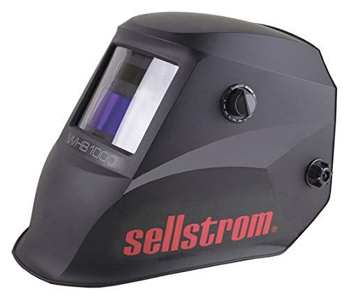 "SELLSTROM WHB 1000 Series, Auto-Darkening Welding Helmet, 9 to 13 Lens Shade, 3.54"" x 1.57"" Viewing Area"