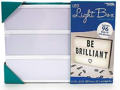 Leisure Arts Ocio Artes LED Cine Caja de luz   LED Luces – 96 ...