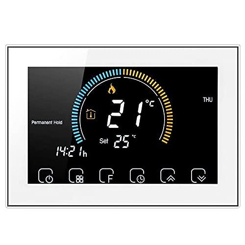 Termostato WiFi Beca BHT-8000GCLW control caldera de gas, Dry contact, termostato inteligente
