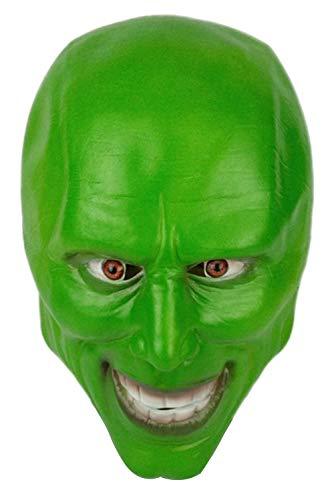RedJade Halloween Creepy Gruselig Maske Carrey Jim Latex Maske für Cosplay Kostüm Party