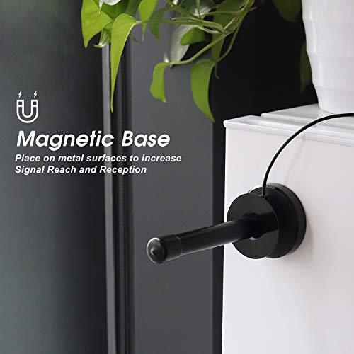 Antenne TV Interieur Puissante TNT HD – August DTA250 – Portable Numérique pour Télévision Radio Dab/Récepteur TV USB - UHF Magnétique Aimant - Compatible DVB-T/DVB-T2 MPEG4 (H.264)