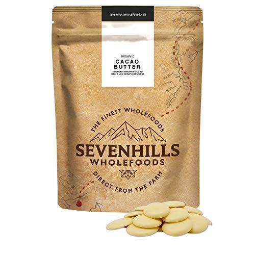 Sevenhills Wholefoods Manteca De Cacao Orgánico, Obleas, 1kg