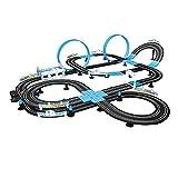 LINGLING Carreras de Pista, Control Remoto eléctrico para niños Carreras de Carreras de Dos Personas Racing Roller Roller Roller Racing Racing Set Toy, 13.5 m de Longitud