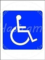 「身体障害者マーク」 ティンサイン ポスター ン サイン プレート ブリキ看板 ホーム バーために