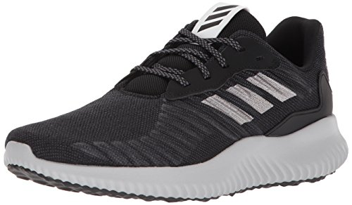 adidas Men's Alphabounce Rc M Running Shoe, core Black/Metallic Silver/Grey Five, 15 M US