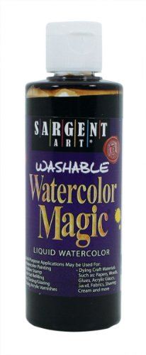 Sargent Art 22-6288 4-Ounce Watercolor Magic, Brown