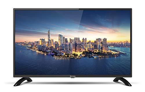 DYON Enter 32 Pro-X2 80 cm (32 Zoll) Fernseher (Triple Tuner (DVB-C/-S2/-T2), Hotelmodus, USB-Media Play.) [Modelljahr 2020]
