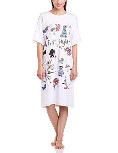 Little Blue House by Hatley – Camisetas de Dormir para Mujer, Ruff Night, Talla única