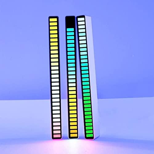 LXNQG 3 PCS Musique Visualizer Lumières, analyseur de Spectre RVB, système d amplificateur Audio USB, Acquisition de Signal de Microphone