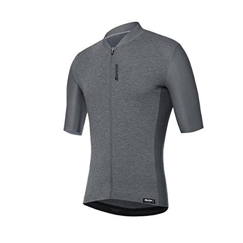 Santini - Camiseta de Manga Corta para Hombre, Classe, Hombre, Color Gris, tamaño Medium