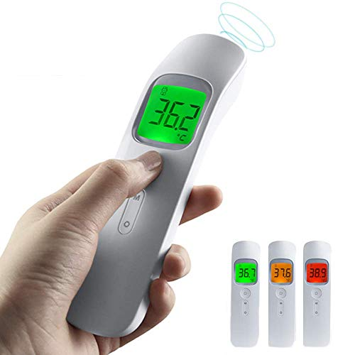Forehead Thermometer, Non-Contact Infrared Baby Thermometer for Best Accuracy, Infrared Thermometer for Baby, Kids and Adults, Instant Accurate Reading, Fever Alarm and Memory Function