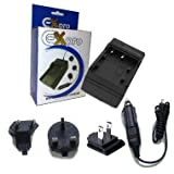 Ex-Pro Battery Travel Charger for Sony BC-TRP, BC-VH1, BCVH1, NP-FH30, NP-FH40, NP-FH50, NP-FH60, NP-FH70, NP-FH100