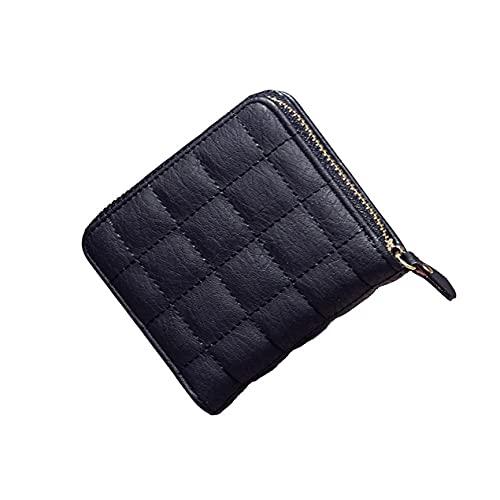 DBSUFV Dames portemonnee geborduurde dames portemonnee korte kleine portemonnee Leuke verandering