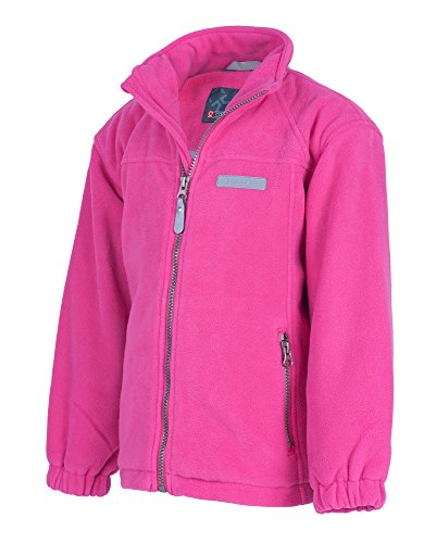 Color Kids Lada Winddichte Fleecejacke, 3 (98-104 Kinder), Dark pink