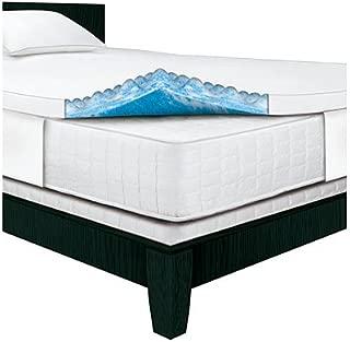 Serta Rest - King - 3 Inch Gel Memory Foam Mattress Topper - 80 x 76 x 3