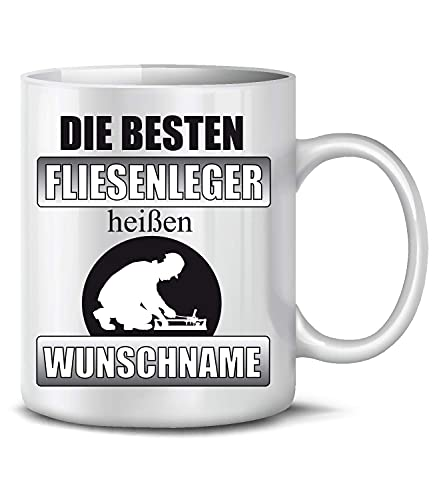 The Best Tilers are Called Deswish Name Pesonalized Cup Mug Taza de café Taza de café