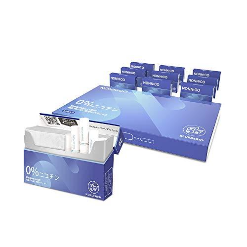 NONNICO ノンニコ アイスブルーベリー 1カートン (10箱入り) 加熱式スティック アイコス互換機用