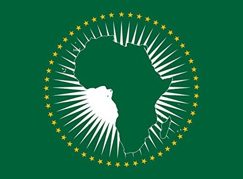 magFlags Bandera Large Unión Africana | Bandera Paisaje | 1.35m² | 100x130cm