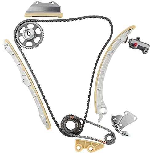 BOXI TK10790 Timing Chain Kit w/Oil Pump Drive Set for 09-13 Acura TSX / 13 Acura ILX / 08-12 Honda Accord / 12-13 Honda Civic SI / 12-13 Honda Crosstour / 10-13 Honda CR-V 2.4L K24Z2 K24Z3