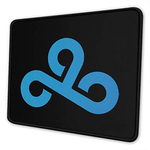 Personalisierte Gaming-Mausunterlage mit Cloud9-Logo in Mehreren Größen, Mousepad Rectangle Non-SlipMouse Pads