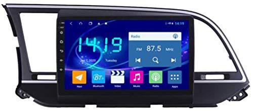 SSeir Coche estéreo Android 8.1 Navegación GPS, Pantalla táctil Completa de 9 Pulgadas Radio de Reproductor Multimedia, Bluetooth Aux Mirror Link Control DVD