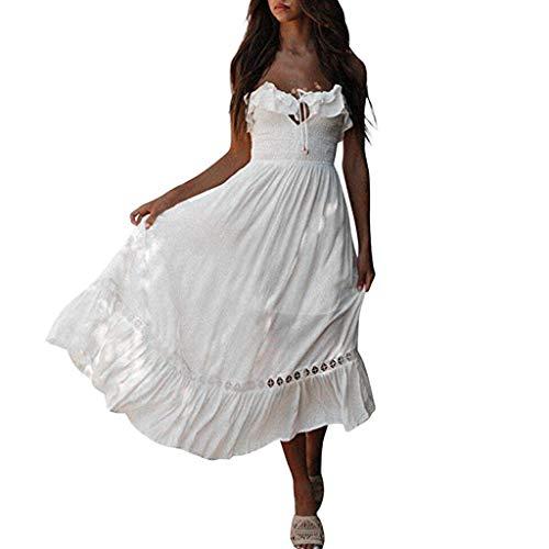 Dames Dasongff zomerjurk vrouwen bikini badmode cover up cardigan strandpak jurk chiffonjurk wit