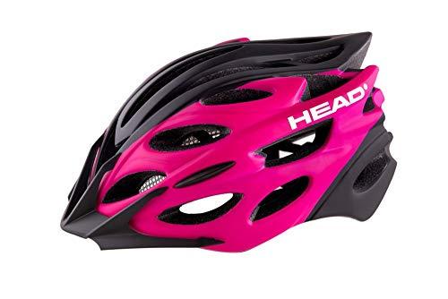 Head Bike - Casco MTB W07 in-Mould, para Mujer, Color Rosa, Talla...