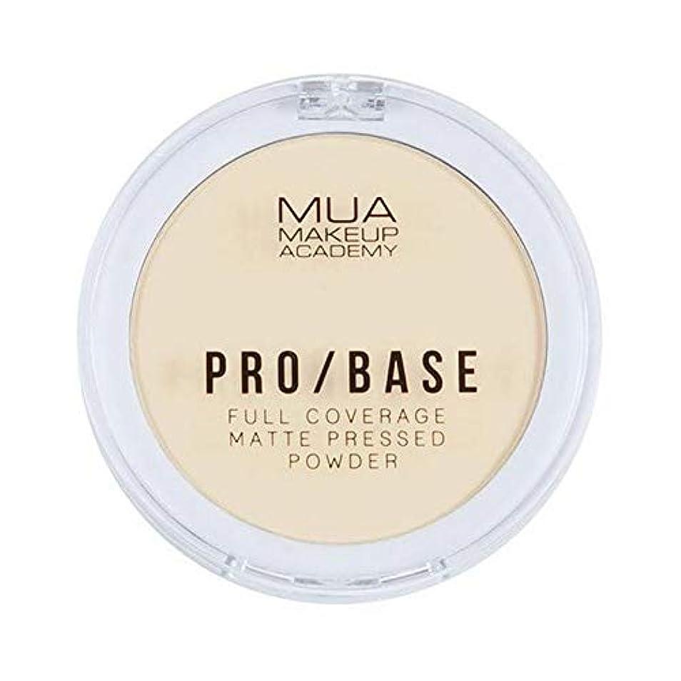 アイロニー勧める観光[MUA] Muaプロ/ベースのフルカバレッジマットパウダー#100 - MUA Pro/Base Full Coverage Matte Powder #100 [並行輸入品]
