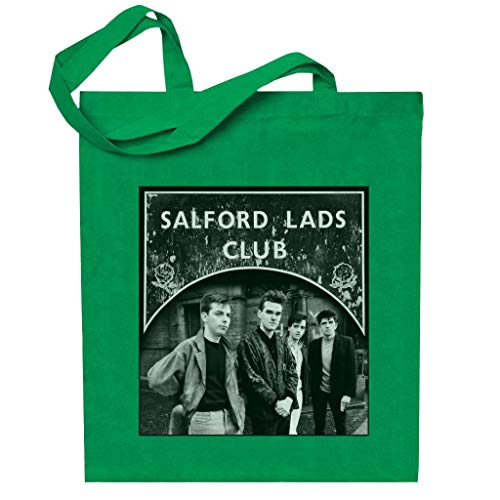 Salford Lads Clubs The Smiths Black & White Totebag