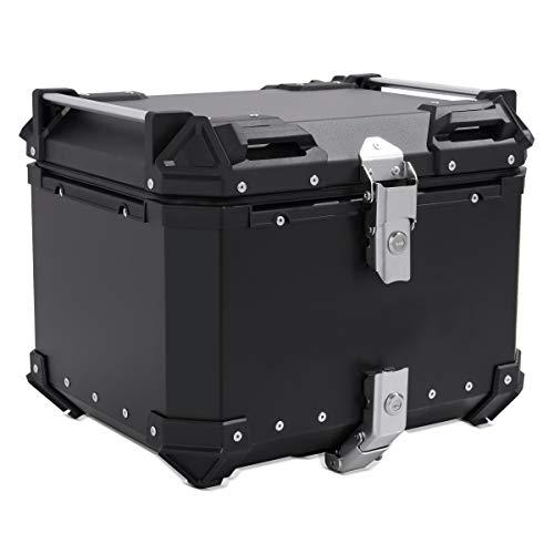 Baul Aluminio para Yamaha T-MAX 560 Top Case Bagtecs XB45 Negro