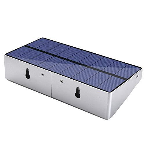 36LED Solar Wandlamp, Infrarood Inductie Van Menselijk Lichaam, 3-5 Meter Detectieafstand, 4 Verlichtingsmodi Waterdichte Buitenverlichting Geschikt Voor Binnenplaats