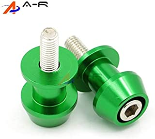 Timmart M6 6MM Motorcycle Swing Arm Sliders Spools CNC Stand Screw For Yamaha YZF-R1//R3//R6//R25 MT-01 MT-03 MT-07Tracer MT-09//Tracer MT-10 MT-25 FZ1 FZ6//R FZ-09 FZ-10 FJ-09