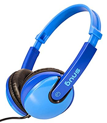 Snug Plug n Play Kids Headphones for Children (Blue) from Snug
