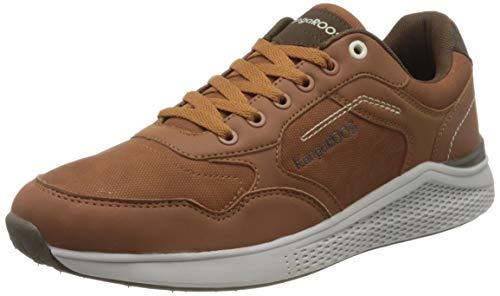 KangaROOS KA-Leaf, Zapatos para Nieve para Hombre, Coñac Dk Brown, 42 EU