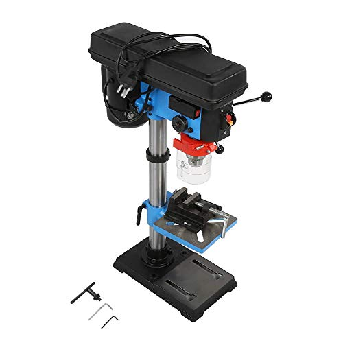 Purchase Table Drill Press Machine, 110V 550W High Precision Adjustable Height Industrial Hand Drill...
