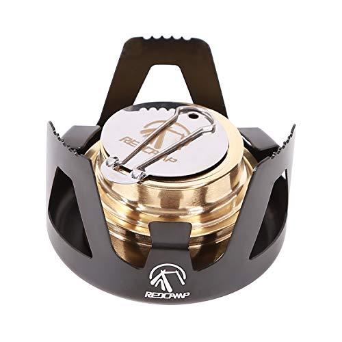 REDCAMP Mini Spirit Burner, Ultralight Portable Alcohol Stove for Backpacking...