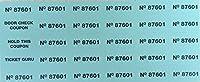 オークションチケット–100or 500シート–{カラー選択とチケット数量下。 } 500 ブルー