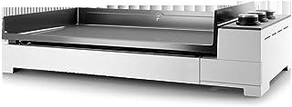FORGE ADOUR Plancha Gaz Premium 75 Châssis acier blanc