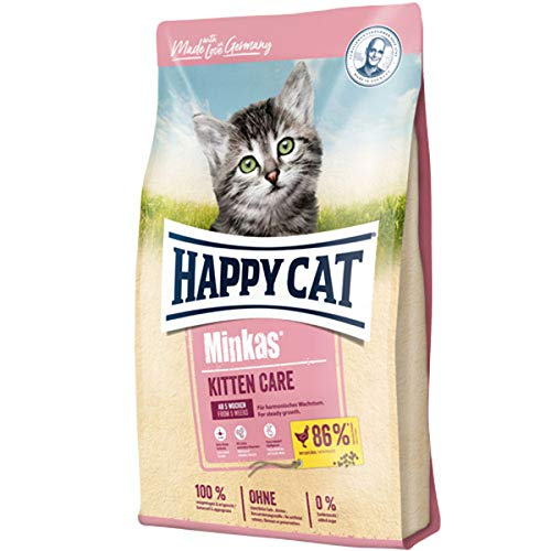 Happy Cat Minkas Kitten Care Geflügel, 10 kg