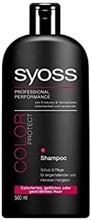 Syoss Hair Care & Color Protecting Shampoo 16.9 Oz