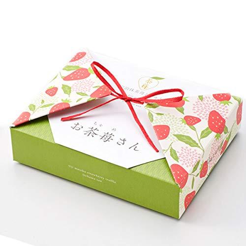 伊藤久右衛門御歳暮宇治抹茶トリュフチョコレートストロベリーチョコお茶苺さん限定いちご箱