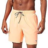 PUMA Herren Puma Swim Mid-length Men's Swimming Board Shorts, Orange, S EU