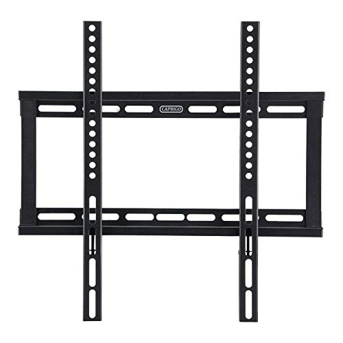 Caprigo Universal Heavy Duty TV Wall Mount Bracket for 26 to 55 inches LED/LCD/HD/4K/QLED TV, Fixed TV Wall Stand (Black...