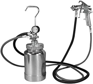 Astro 2PG8S 2 Quart Pressure Pot with Silver Gun and Hose