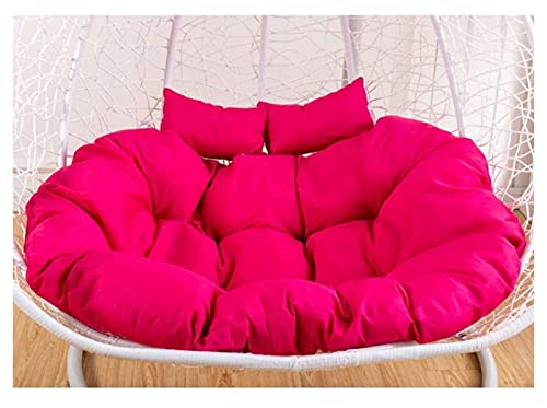 HYCy Cojines de Exterior para sillas de Patio Cojines de Asiento Grandes con Almohada, Cojín de Silla Colgante Doble, Cojines de Columpio Cojines Gruesos de Silla Colgante Cojines de Tumbona