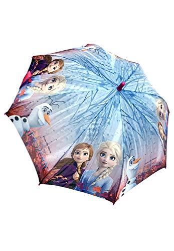 Frozen - Die Eiskönigin Anna und ELSA Automatik-Regenschirm Stock-Schirm