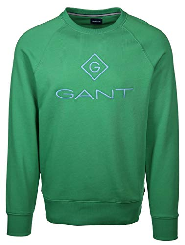 GANT Herren Sweatshirt Größe 4XL Grün (grün)