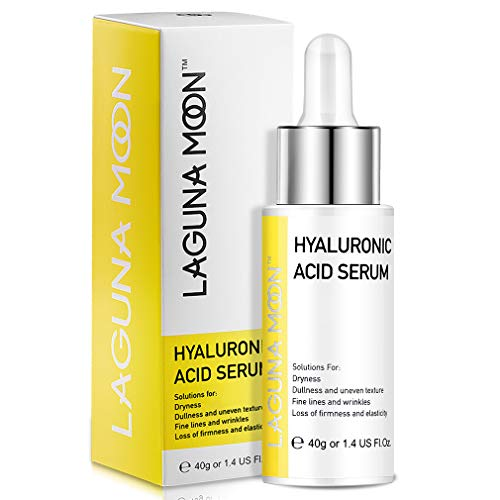 cbda lipsticks Hyaluronic Acid Serum for Face & Eyes   Lagunamoon Hydrating Facial Serum for Skin with Vitamin C   For Anti-Aging & Anti Wrinkle & Moisturizing   Fragrance-Free & Vegan   1 Oz