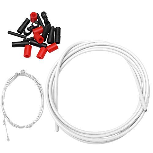 CLISPEED 1 Juego de Cable de Freno de Bicicleta Cable de Engranaje...
