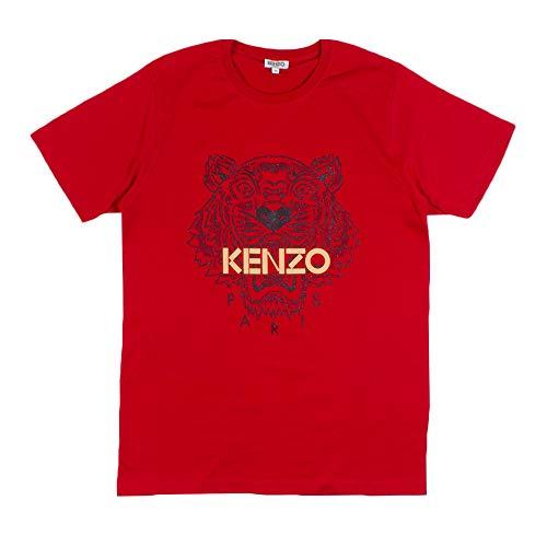 Kenzo Tiger T-Shirt Uomo (M, Rosso)